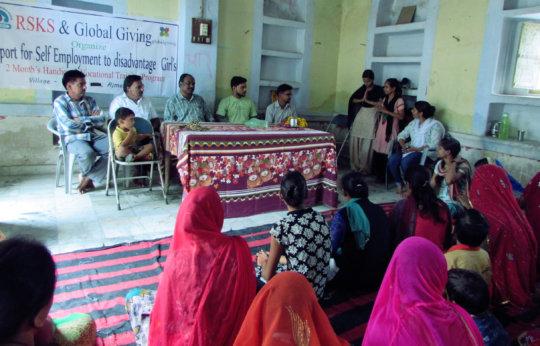 inauguration of Handicraft skill training