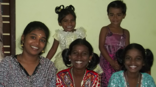 Janani Home for underprivileged children in India