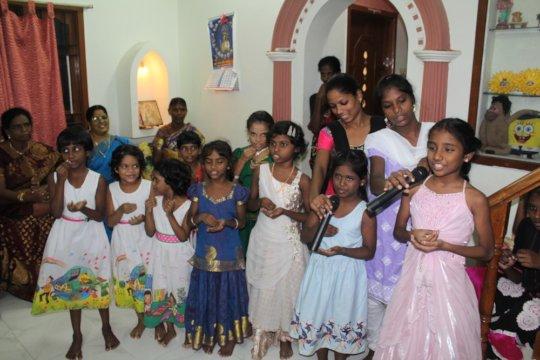 Children at Janani Home