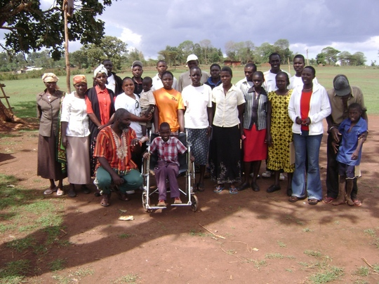 Help 250 Disabled  Kenyan children go to school