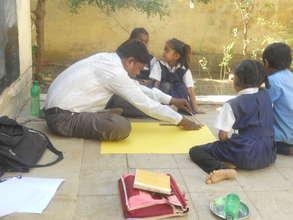Para teacher working as regular teacher in school