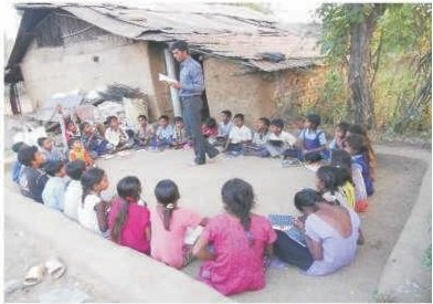 Para Teacher in Govt school for Child Education