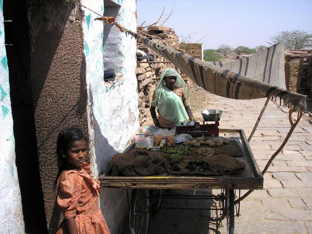 Help women secure water and food in India