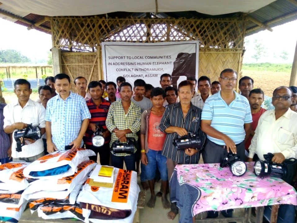 Meeting and Distribution of Kits