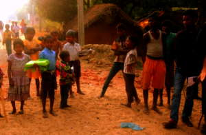 Children attending the very basic School