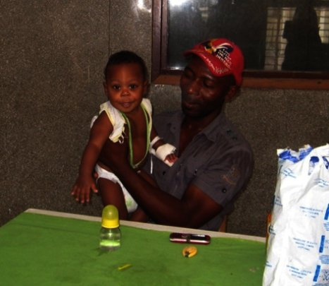 A father and his son on the road to healing