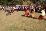 Women Tug of war in a peace event