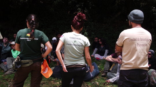 100 volunteers for environmental protection