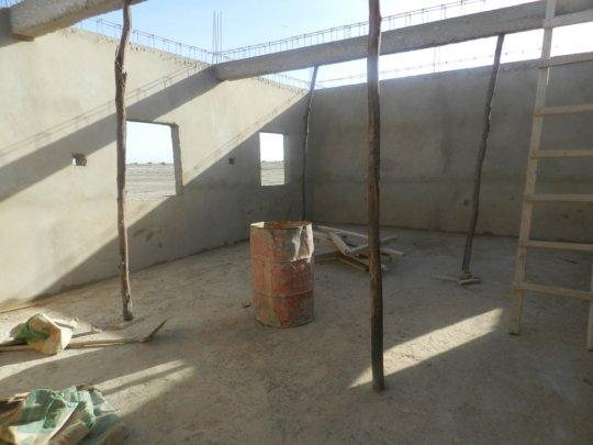 Kakondji school under construction