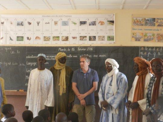 School Director and Teachers