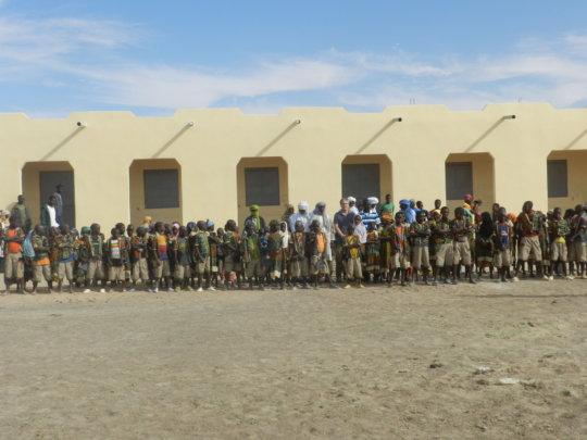 New Kakondji School near Timbuktu