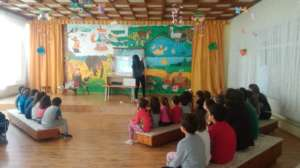 Presenting ecology culture in the kindergarden