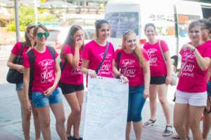 During Our Social Campaign in Veliko Tarnovo