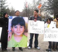 The Aramin family in D.C., 2008