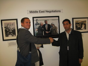 Bassam and Yaniv at the State Department
