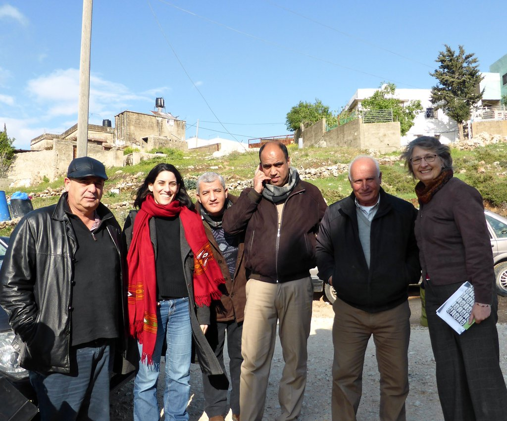 Part of the group that met near Ein Yanun