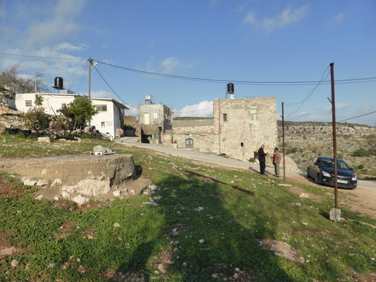 Measuring the playground space in Ein Yanoun