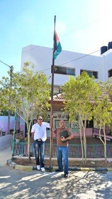 Combatants for Peace in Al Aqaba Village