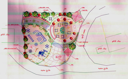 Drawings for new Ein Yanoun Playground