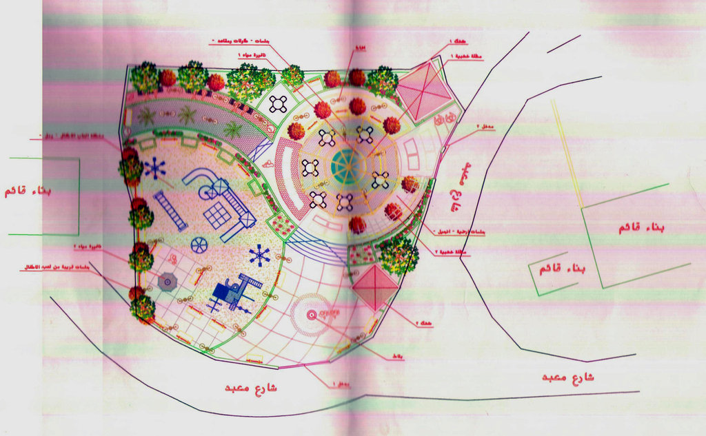 Drawings for new Ein Yanoun Playground