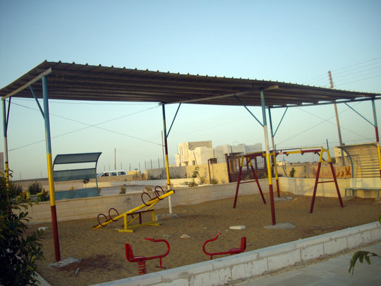 View of playground from the opposite direction