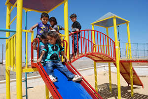 Playgrounds for Palestine provided this grant