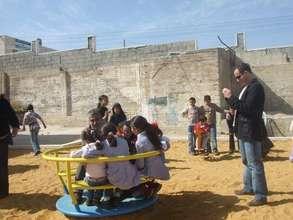 Abir's Garden Playgound at the Anata Girls School