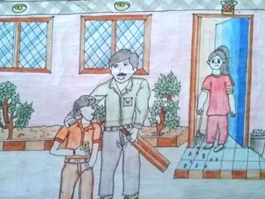 Another wining piece - Child Rights Competition