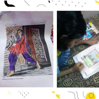 Learning about Zeenat Haroon