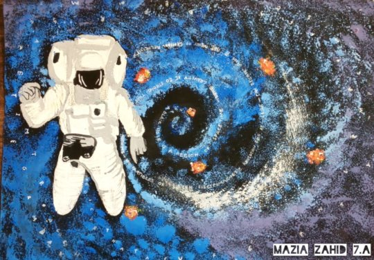 Student submission for Space Art Competition