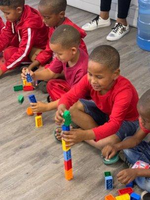 LEGO Six Bricks activity
