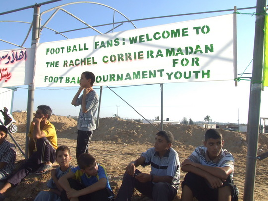 Rachel Corrie Ramadan Soccer tournament