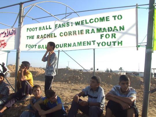 Rachel Corrie Ramadan Soccer tournament