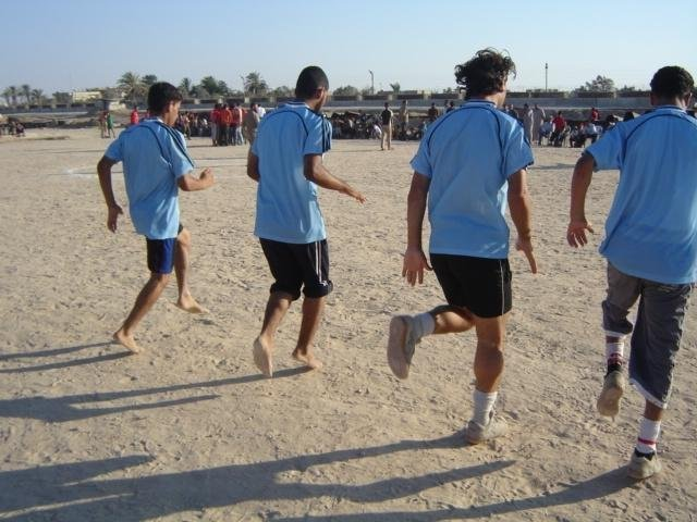 Beam of Light:  Ramadan Soccer Tournament in Rafah