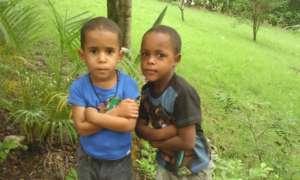 Boys at orphanage