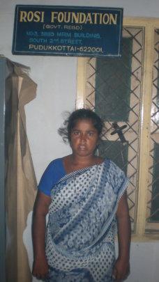 Vijaya a tribe woman