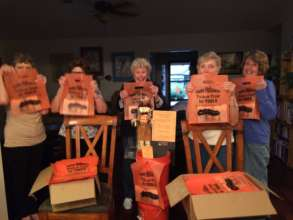 Bag Ladies prepare for Trick-or-Treat For Tools.