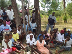 Out of School youth attend rural training sessions in Zimbabwe