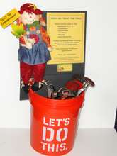 Decorated buckets will be at 100 collection points
