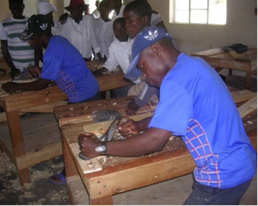 Carpentry tools for vocational students