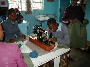 Garment making equipment