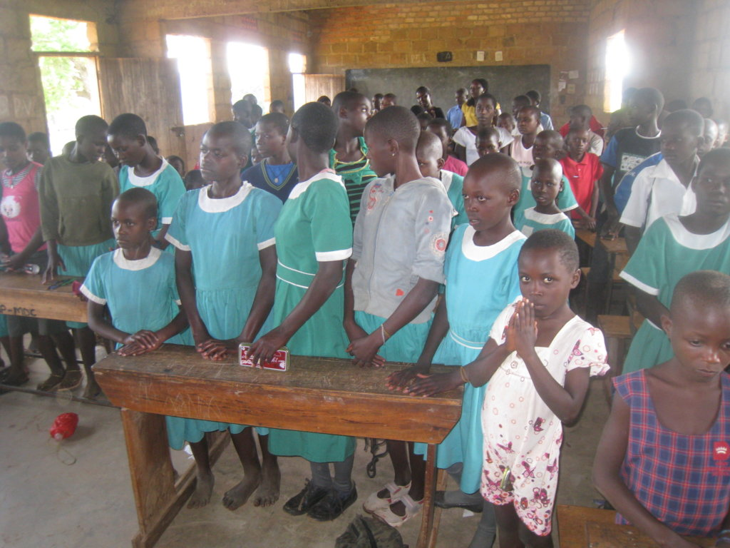 Save hungry children in Ugandan schools