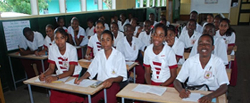 Feed and educate 500 students in Guyana