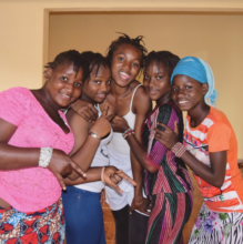 New students in MindLeaps Guinea