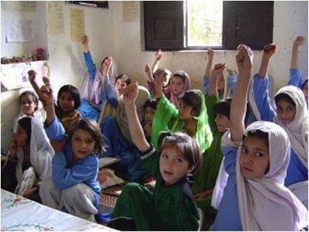 School girls in Pakistan