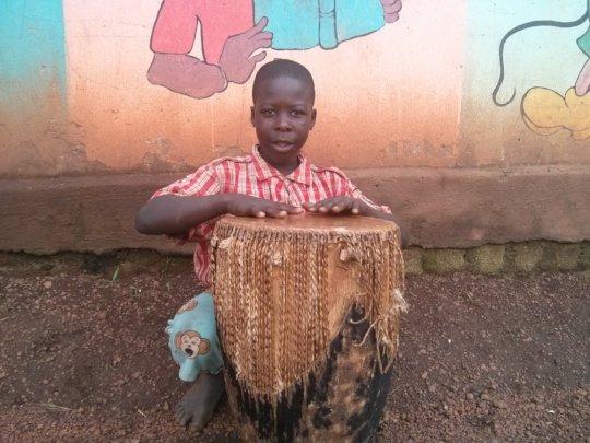 James drumming