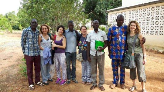 italian teachers in Benin