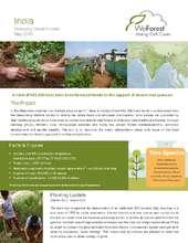 Planting Report Khasi Hills, India (PDF)