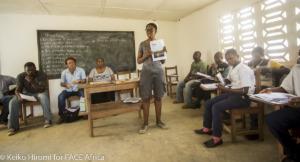 WASH in Schools Training in Rivercess