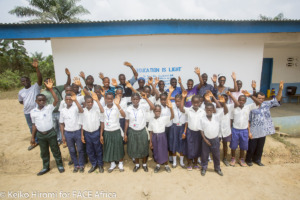 Student from WASH in Schools Training in Rivercess